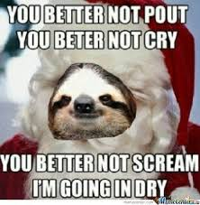 Sloth Meme Images - sloth christmas meme festival collections