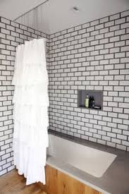 Ceiling Mount Drapery Rod The Most 41 Best Shower Curtains And Tracks Images On Pinterest Shower About Ceiling Mounted Shower Curtain Ideas Jpg