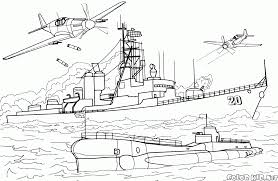 coloring page intelligent destroyer