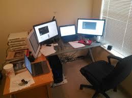 l shaped desk gaming setup title about graduating