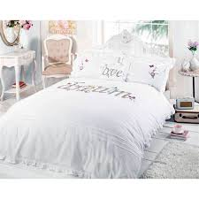 white shabby chic bedding sets how to remove yellow shabby chic