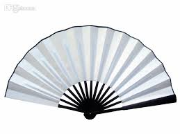 folding fans 2017 10 8 blank white folding fan diy wedding program