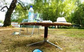 Make A Picnic Table Out Of One Sheet Of Plywood by Folding Camping Picnic Table 7 Steps With Pictures