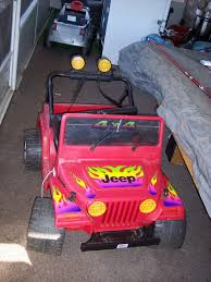 barbie jeep 2000 modified power wheels new troll