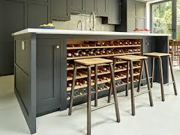 kitchen island with wine storage kitchen 25 modern ideas for wine storage in your kitchen and