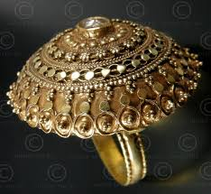 antique gold rings images Rajastan gold ring r264 india jpg