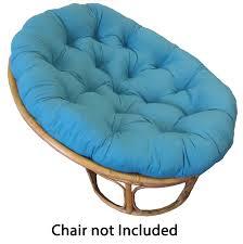 decorating rattan papasan chair with floral padded papasan chair
