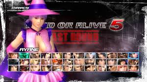 doa5lr ayane halloween 2016 costume on ps4 official playstation