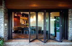 Bi Folding Glass Doors Exterior Folding Glass Doors Jvids Info