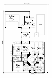 mediterranean style house plan 4 beds 5 00 baths 4839 sq ft plan