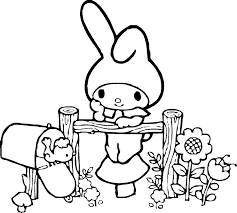 sanrio coloring pages 71 best color cute kawaii easy for coloring all ages images on