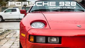 1979 porsche 928 body kit porsche 928 german muscle youtube