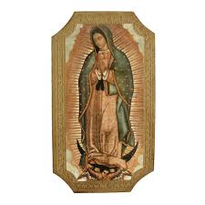 our lady of guadalupe plaque 9 u0027 u0027 the catholic company