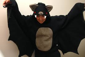 bat costume you and mie