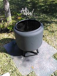 Washing Machine Firepit Diy Backyard Pit 7 Steps With Pictures