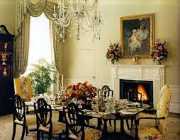 white house family kitchen the dining room photo of worthy family residence dining room white