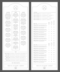 the art of menu design tradeprint blog
