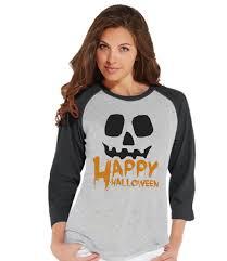 Halloween Shirt For Women by Happy Halloween Shirt Halloween Costumes Pumpkin Shirt