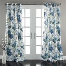 Curtain Pair Lush Decor Floral Paisley Window Curtain Panel Set Of
