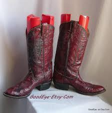 womens boots size 9 5 narrow vintage tony lama eel skin boots womens size 9 eu 40 uk 6 5