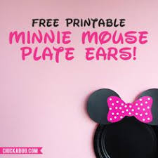minnie mouse medium pink letters 1 die cuts diy kids crafts