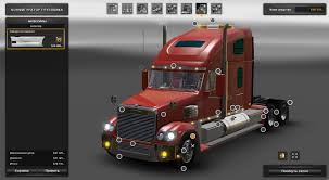 truck pack v1 5 american truck simulator mods ats mods freightliner coronado for ats 1 2 v2 1 american truck simulator