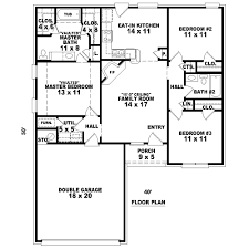 The G443 14 X 20 X 10 Garage Plan Free House Plan by Weaver 8083 3 Bedrooms And 2 5 Baths The House Designers