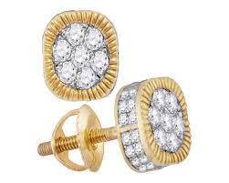 real diamond earrings for men diamond studs earrings studs pricegems inc