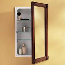 Framed Mirror Medicine Cabinet D Framed Silver Framed Medicine Medicine Cabinets Astonishing Wood Medicine Cabinets With Mirror