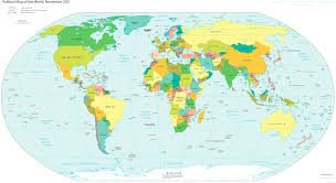 Thailand Map In World Map by World Large Detailed Political Map Large Detailed Political Map
