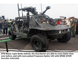 modern army vehicles what are the advantages of a light strike vehicle in modern warfare