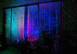 laser stars indoor light show see how this room and it s blinds are transformed by our laser