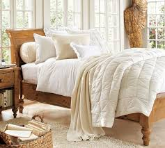 Ashby Bedroom Furniture Ashby Sleigh Bed Pottery Barn