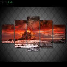 online buy wholesale volcanoes oil painting from china volcanoes