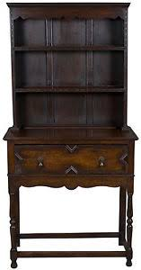 antique jacobean style welsh dresser kitchen hutch plate rack