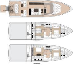 luxury yacht floor plans dynamiq gtm 70