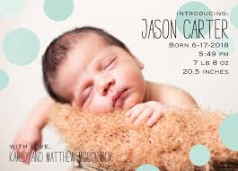 89 best birth announcements images on births and