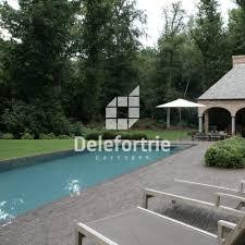 amenagement piscine exterieur contour de piscine delefortrie paysages