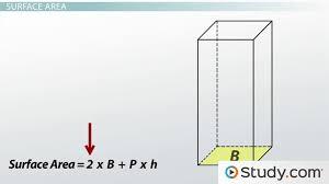 prisms definition area u0026 volume video u0026 lesson transcript