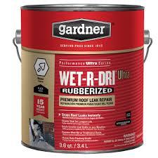 Henry Rubberized Wet Patch by Gardner 3 6 Qt Wet R Dri Ultra Rubberized Premium Roof Leak