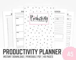 daily planner pdf free productivity planner letter size time management