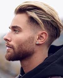 undercut back design men 2017 2018 blond herfst opgeknipt opgeschoren stijl