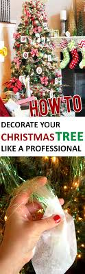 how to decorate your tree like a professional