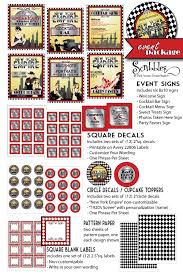 new york empire printable roaring 1920 u0027s party decorations