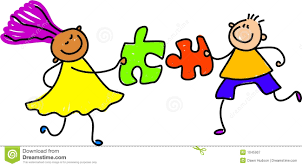 puzzle kids royalty free stock photography image 1045907