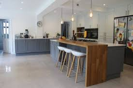 two level kitchen island 37 comfy kitchen islands with breakfast nooks comfydwelling