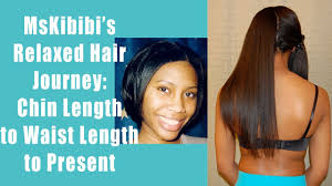 how to fix chin length hair my relaxed hair journey chin to below waist length youtube
