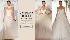 wedding dress new york bridal week wedding dresses from katerina bocci 2017 bridal