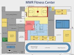 Fitness Center Floor Plans Fitness Center Defense Supply Center Columbus