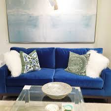 fresh cobalt blue velvet sofa 63 about remodel living room sofa
